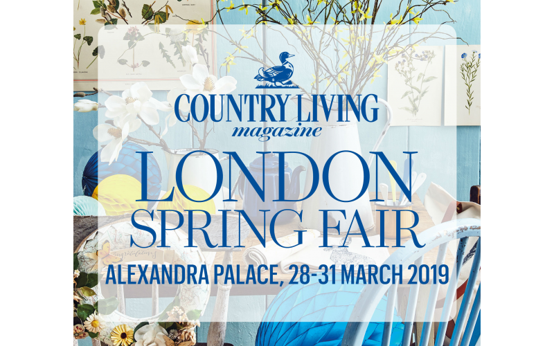 WIN TICKETS TO COUNTRY LIVING SPRING FAIR 2019