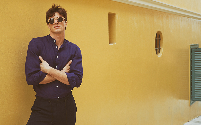 Summer shirt by Faros Linen
