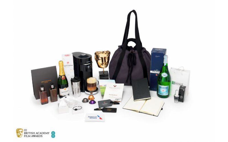 An official BAFTA Nominee Gift Bag