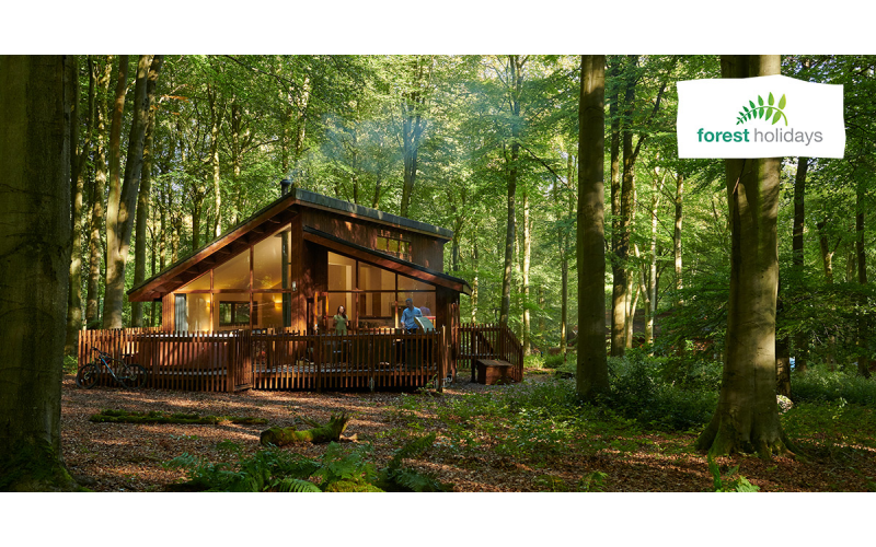 Win a cabin break with Forest Holidays