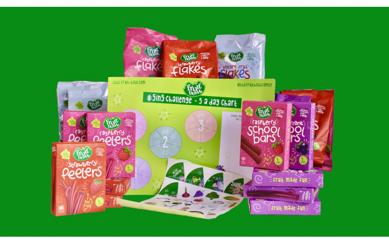 WIN a Fruitilicious Fruit Bowl Bundle to Kick Start Your #5in5Challenge for January 2021!