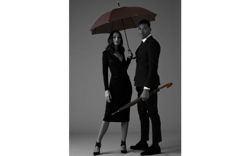 Two Fulton umbrellas from their Diamond Collection - The Princess and The Radiant