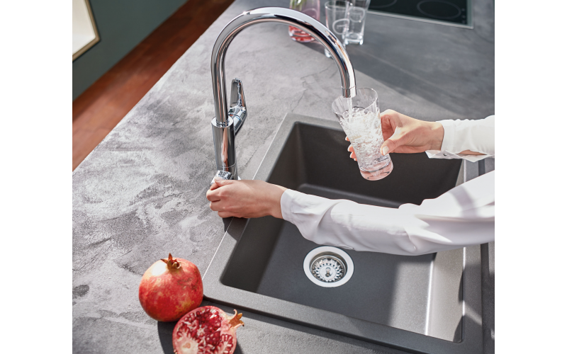 A GROHE Blue Pure filtered tap