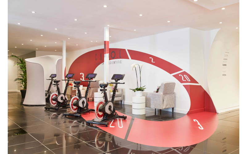 Win sessions on the first AI-powered exercise bike that gets you slim and fit in 40 seconds in 8 weeks at Harvey Nichols London
