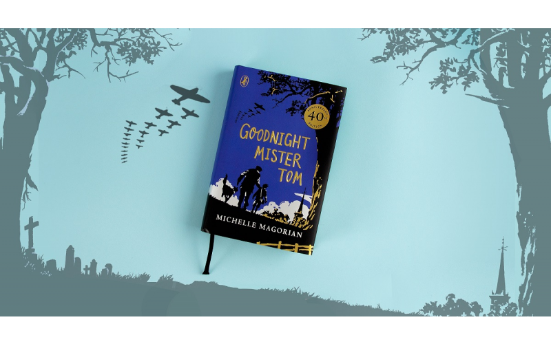 A signed copy of Goodnight Mister Tom - 40th anniversary cloth bound harback edition