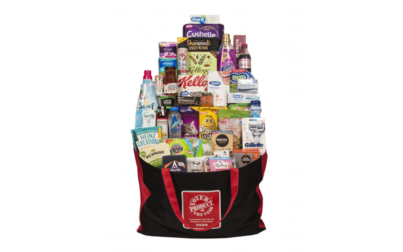 Product of the Year Goody Bag
