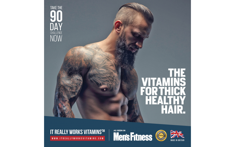 2 Year Supplies of The Vitamins for Healthy, Strong Hair  RRP at £379