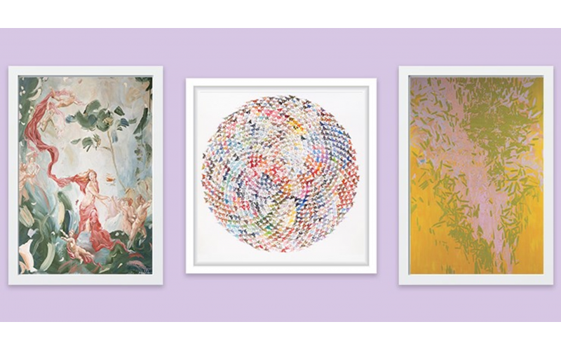 Win artwork, out of choice of 3, valued from £300-£360!