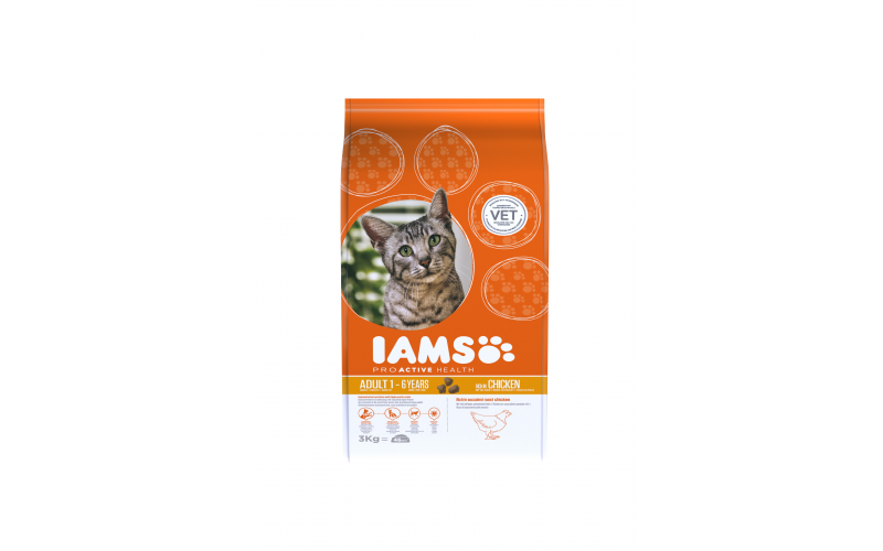 Win a 3 months' supply of IAMS Proactive Health Cat