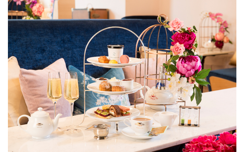 Win an Afternoon Tea experience at Time Stops Here @146