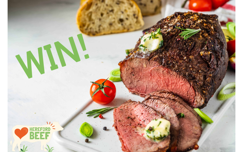 Win a Hereford Beef Easter Hamper