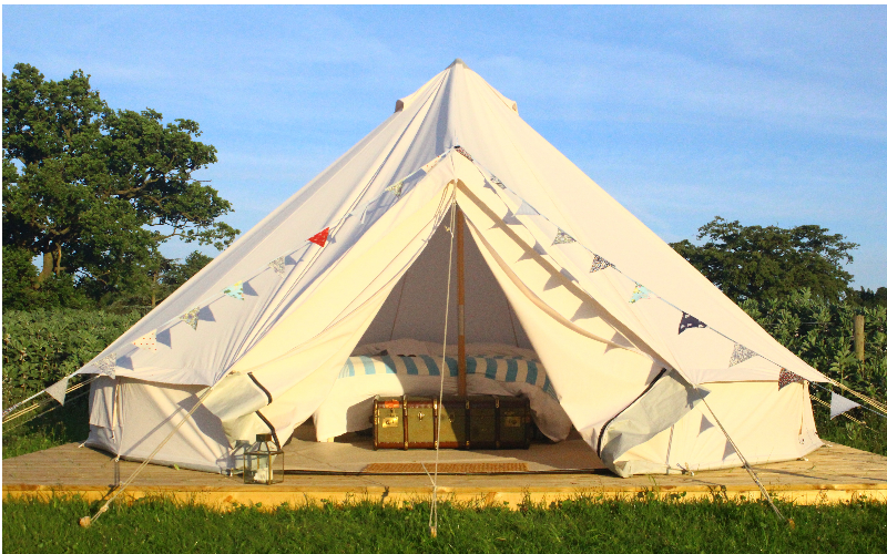 Win a two night glamping holiday in Hertfordshire, with breakfast, for up to five people