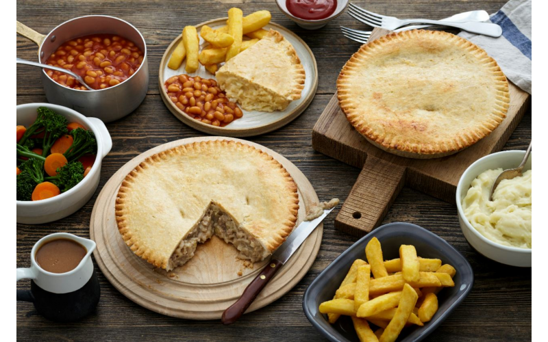 Aa year's supply of Holland's Pies Family Pie range