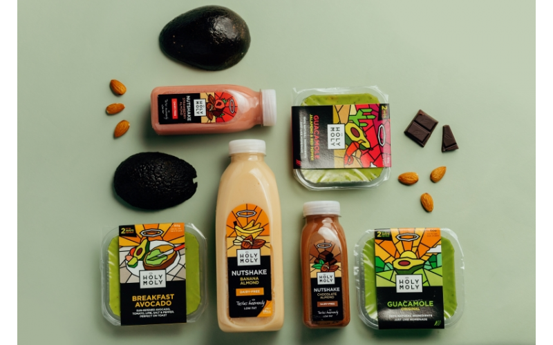 A bundle of delicious Holy Moly products!