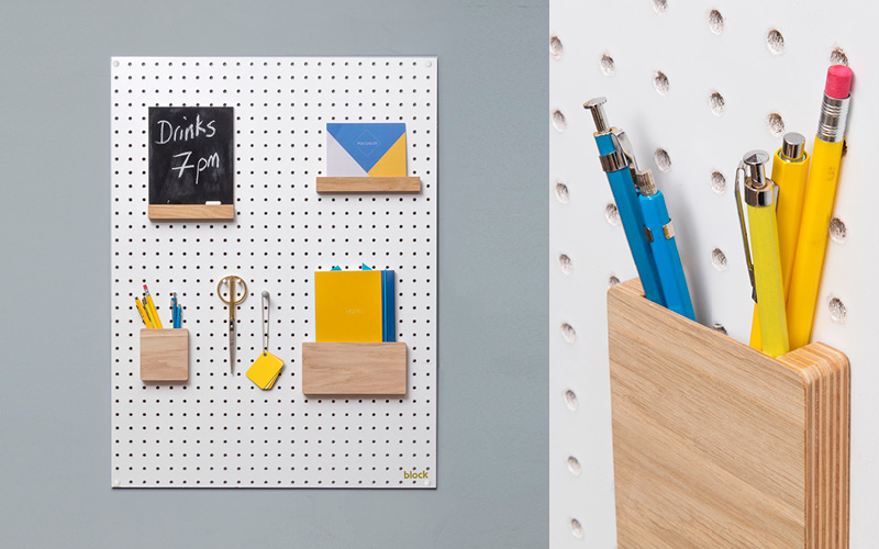 Win a Block Design Home Office Pegboard Package