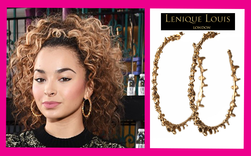 COMPETITION! Win a pair of Ella Eyre's favourite Gold Hoops