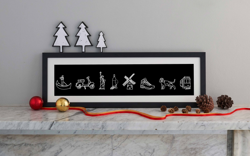 Personalised My Icon Story Print