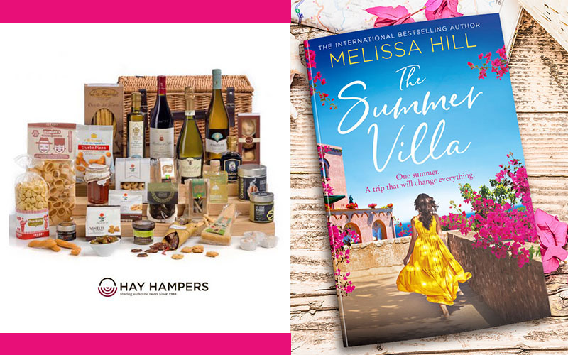 WIN an Italian Hamper worth £185 and a copy of THE SUMMER VILLA by Melissa Hill