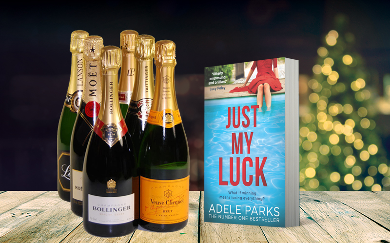 WIN a case of champagne with Just My Luck