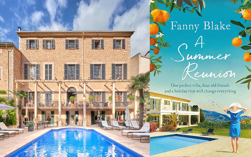 Win a two-night break at Hotel L'Avenida, Mallorca and a copy of A Summer Reunion by Fanny Blake