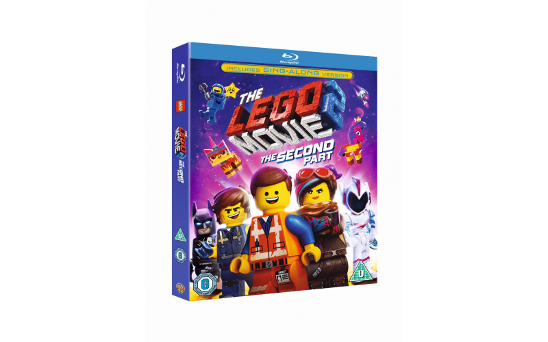 """43"""" smart TV, Blu-Ray™ player and The LEGO® Movie 2: The Second Part on Blu-Ray™"""
