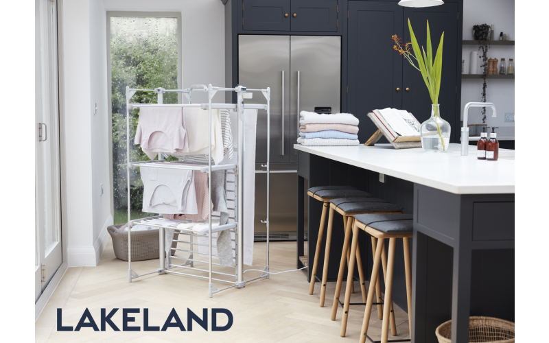 Lakeland Dry:Soon Deluxe Heated Airer & Cover