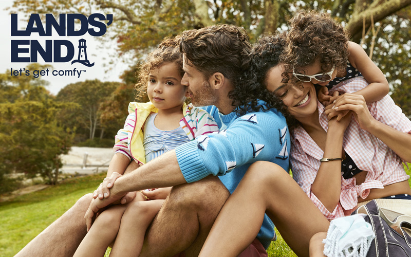 £50 gift voucher to spend at Lands' End