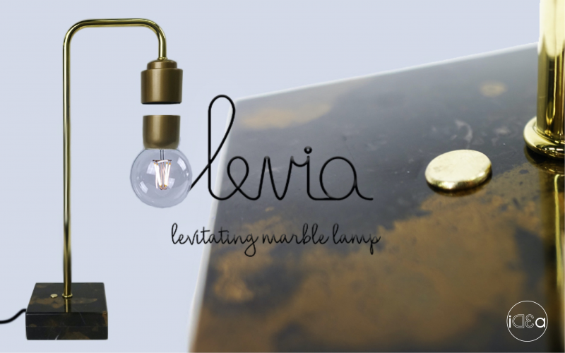 LEVIA - levitating marble lamp - Deluxe Edition