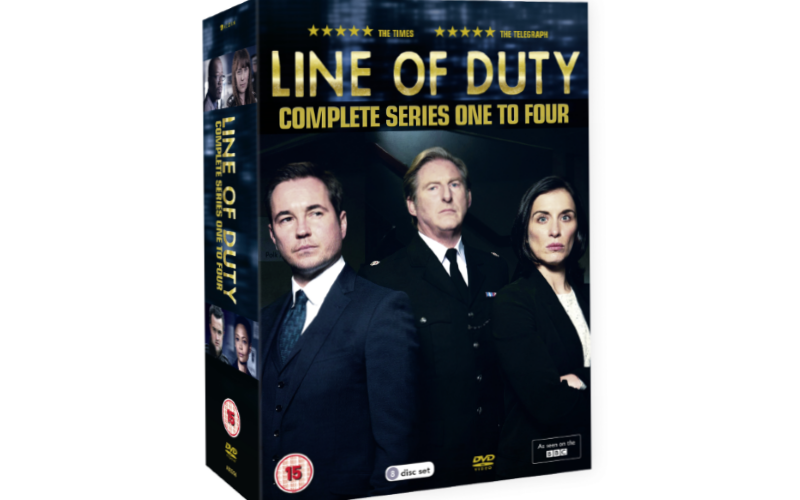Line of Duty 1 – 4 Complete Box Set DVD