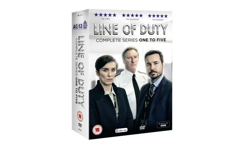 Line of Duty One – Five Complete DVD Box Set