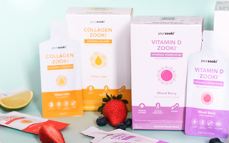 Win a 2 month Supply of YourZooki Liposomal Vitamin Supplements!
