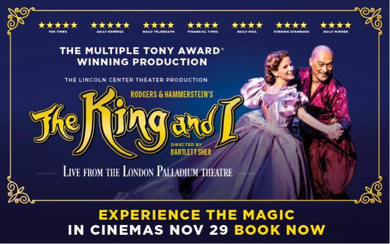 Cinema Tickets for The King and I