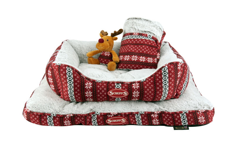 The Santa Paws Bedding Range by Pets Love Scruffs