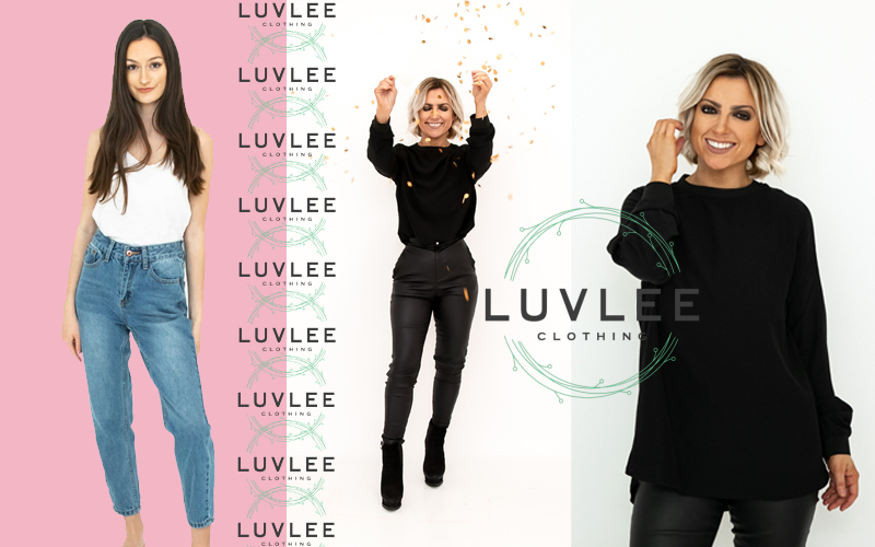 A Luvlee Petite Fashion Look, choose between The Richie, The Kylie & The Nicole