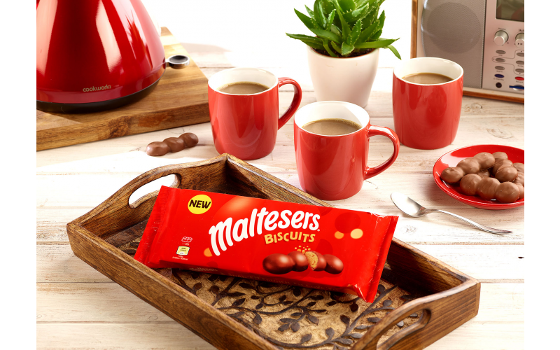 A £250 Asda Gift Card plus three packets of Maltesers® Biscuits