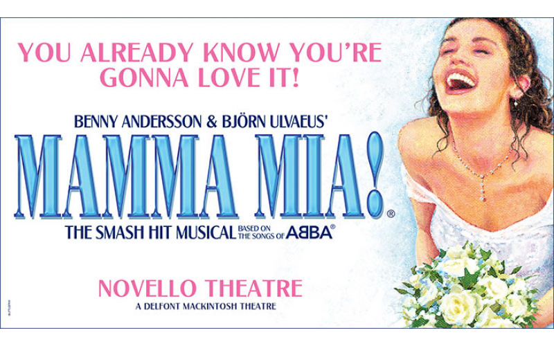 A pair of tickets to MAMMA MIA! live worth £150