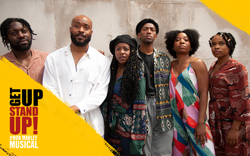 A pair of tickets to see Get Up, Stand Up! The Bob Marley Musical
