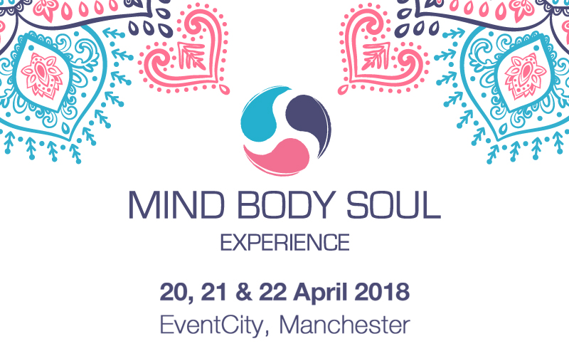 A pair of weekend passes for the Mind Body Soul Experience Manchester