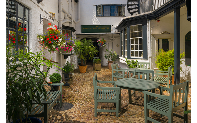 A two-night stay at The Marlborough Arms in Woodstock