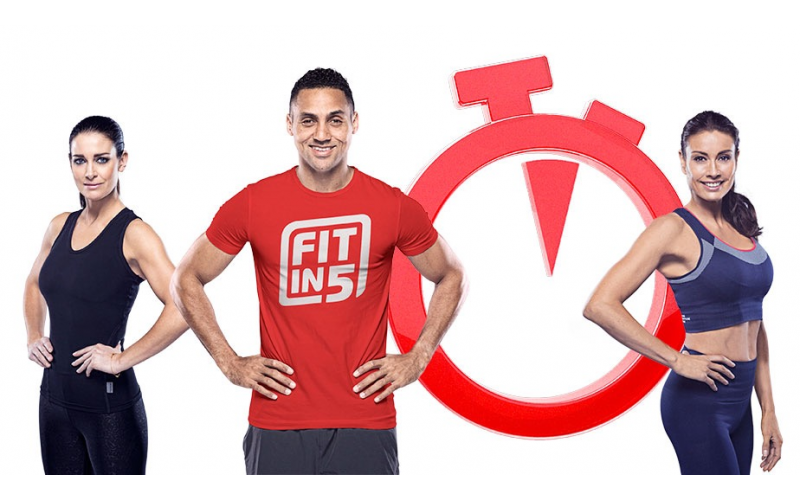 Win a Fit in 5 Family Workout with Marvin Ambrosius