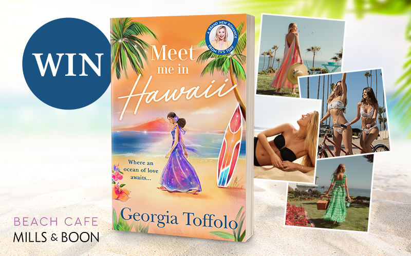 WIN £400 Beach Cafe vouchers plus a bundle of books with Meet Me in Hawaii!