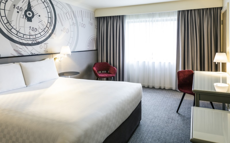 luxury package for a weekend away for two at Mercure Dartford Brands Hatch Hotel