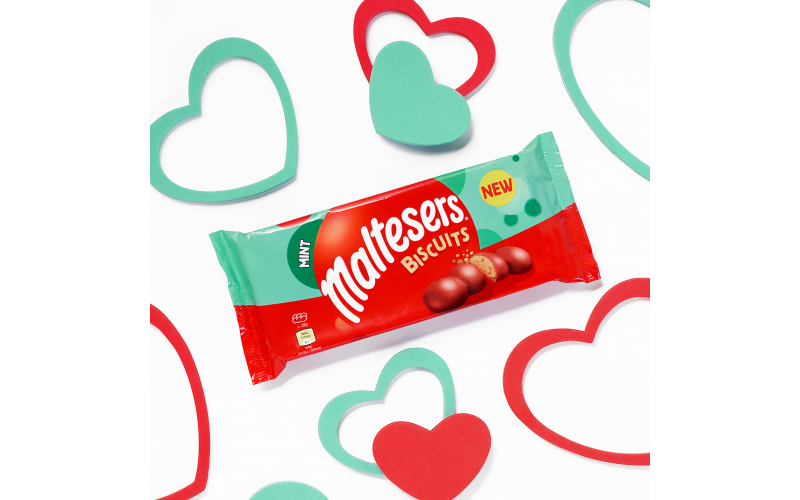 A £250 Tesco Gift Card plus three packets of Mint Maltesers® Biscuits