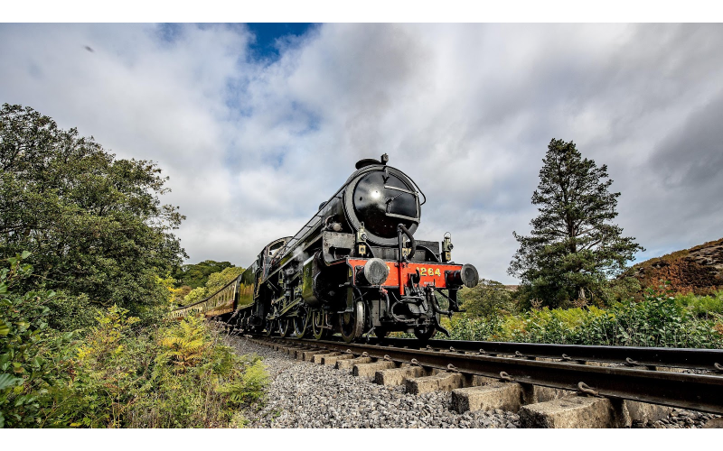 A family ticket to the North Yorkshire Moors Railway
