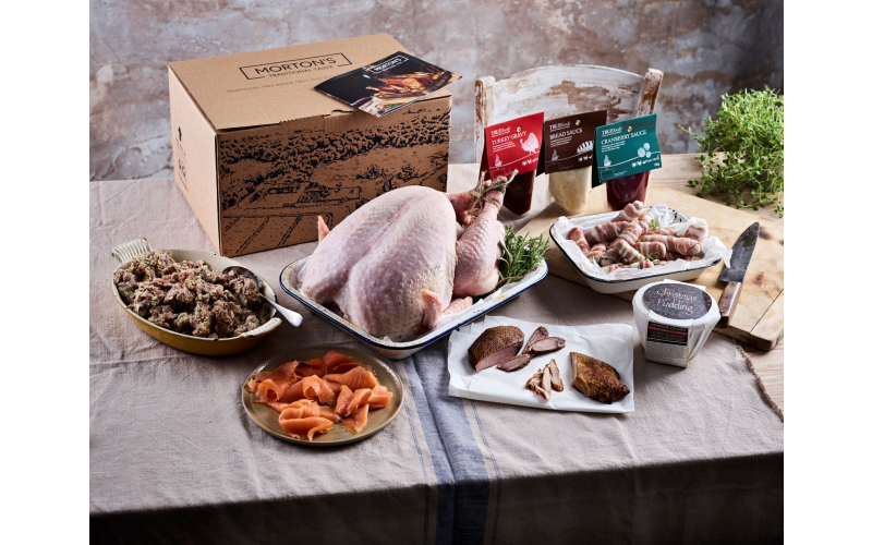 A Christmas Hamper from Morton's Farm