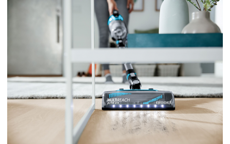 WIN ONE OF TWO BISSELL® MULTIREACH ACTIVE 21V TANGLE FREE CORDLESS VACUUMS