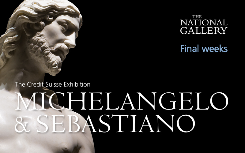 ) 2 Tickets to The Credit Suisse Exhibition: Michelangelo & Sebastiano, Plus a private introduction from a member of the curatorial team followed by a meal for