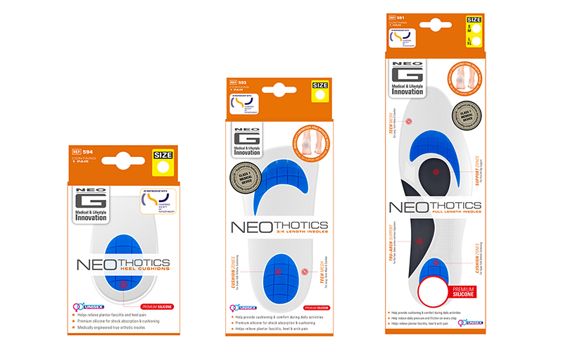 An insole from the Neothotics®  range by Neo G