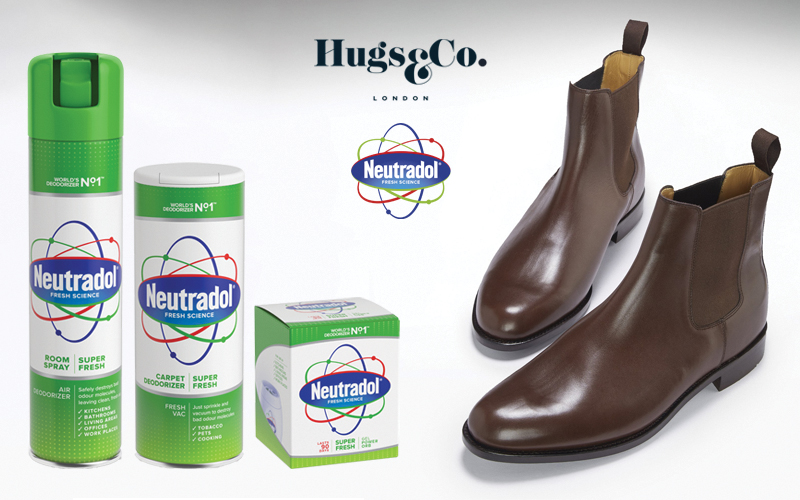 £160 Hugs & Co voucher and a bundle of Neutradol Super Fresh Products