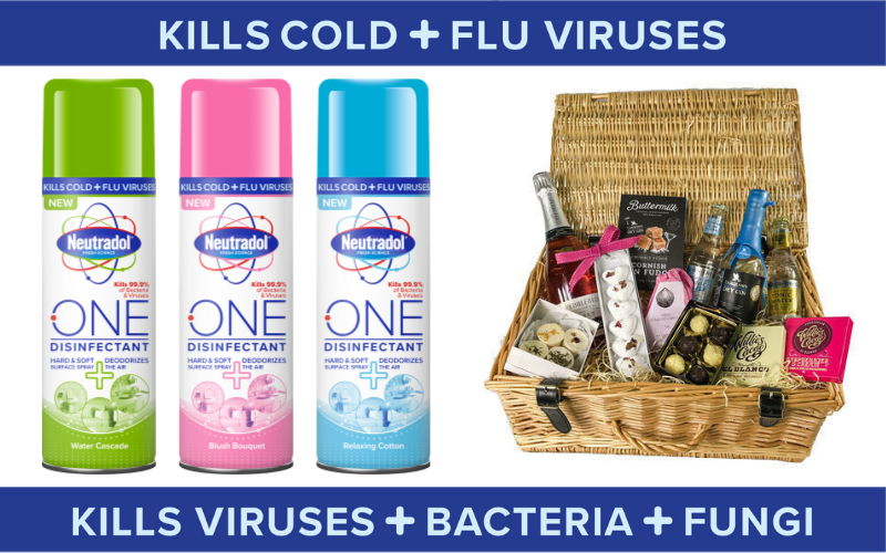 Win a Devonshire Hamper with Neutradol One Disinfectant